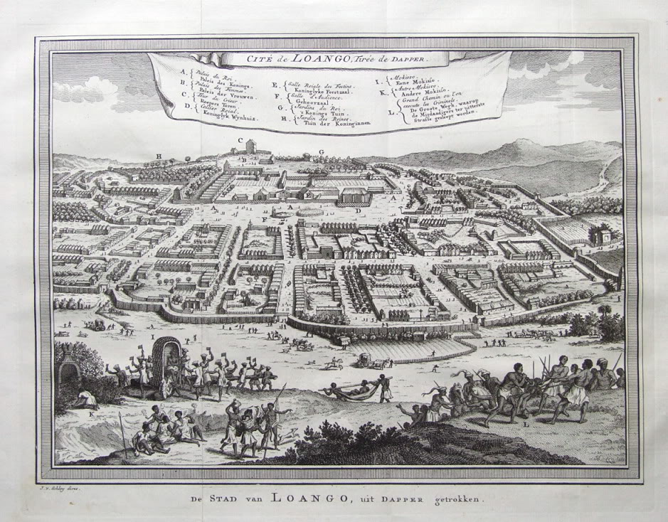 afrika city of loango 17th century