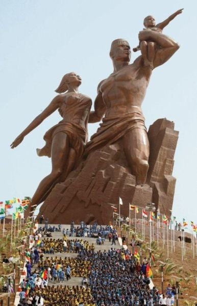Afrika Monument to the African Renaissance Dakar, Senegal