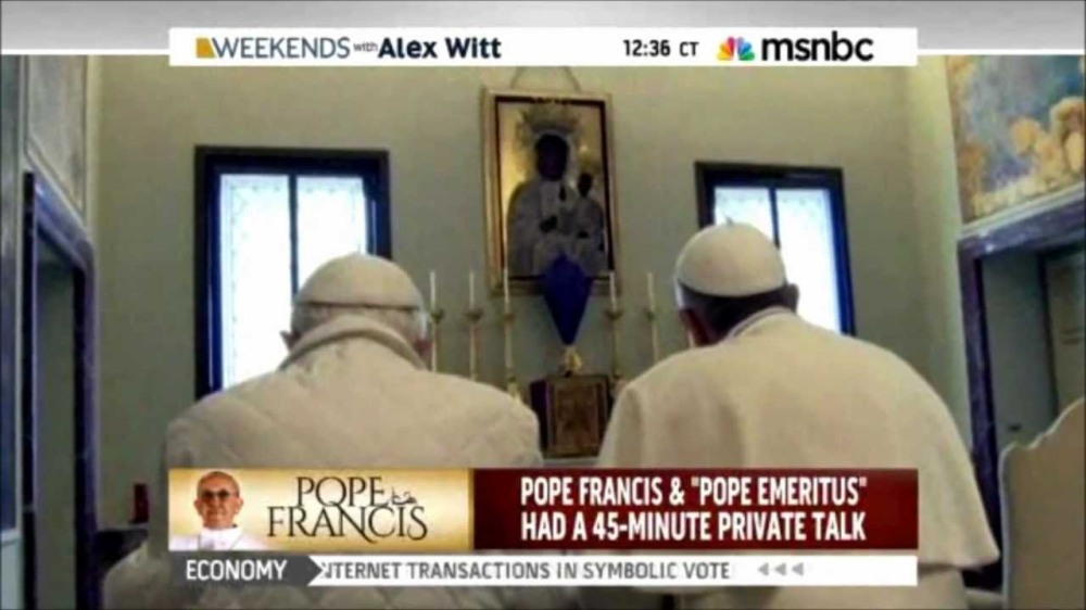 black madonna popes praying to nbc