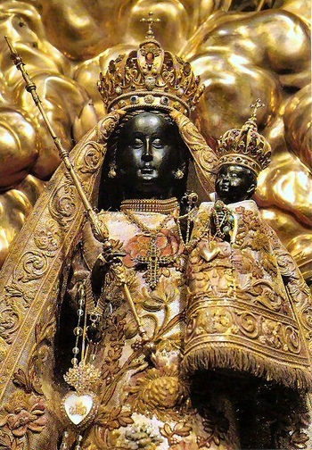 black madonna shrine of our lady of einsiedeln st meinrad zwi