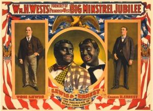 blackface minstrel show1