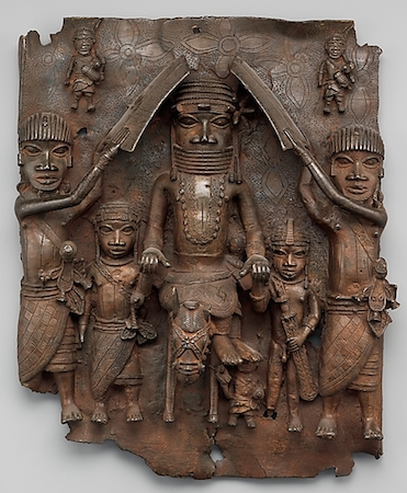 gold benin art 14th plus