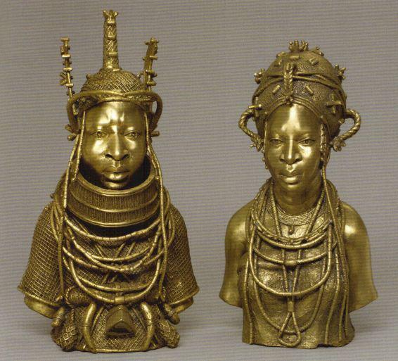 gold edo benin nigeria 12th century Royaume-du-Benin