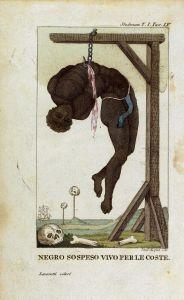 hellacaust suriname -Stedman-hanging