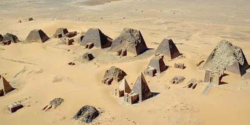 ph. pyramids at meroe