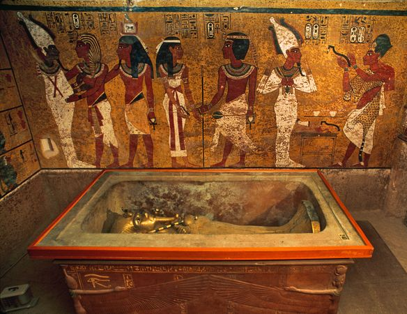 ph. tutankhamen tomb