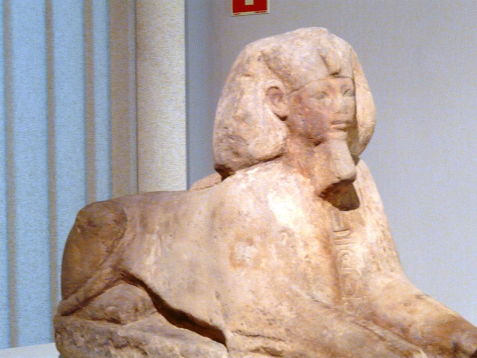 ph. tuthmose 3 sphinx national museum warsaw poland photo by runoko rashidi