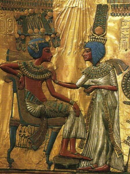 ph.ankhesenamen + tutankhamen