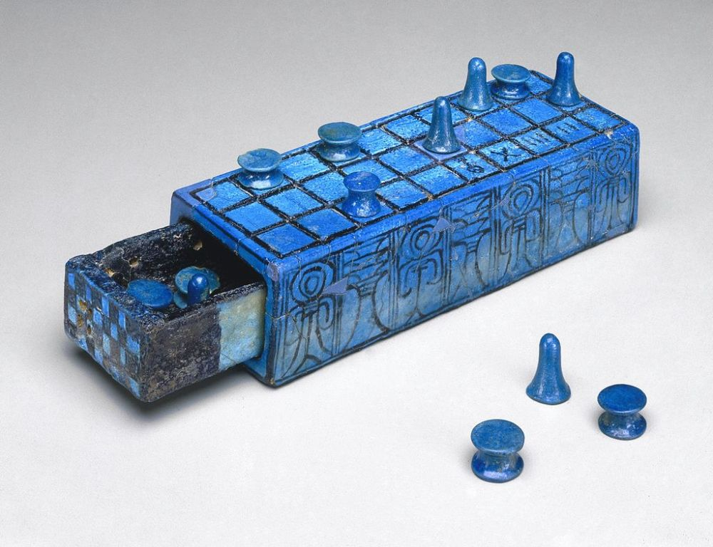Senet gaming_Board_Inscribed_for_Amenhotep_III