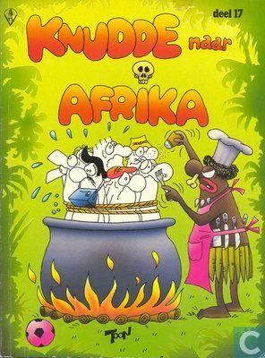blackface knudde in afrika