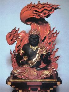 fudo myo patron of the samurai source african star over asia, by runoko rashidi