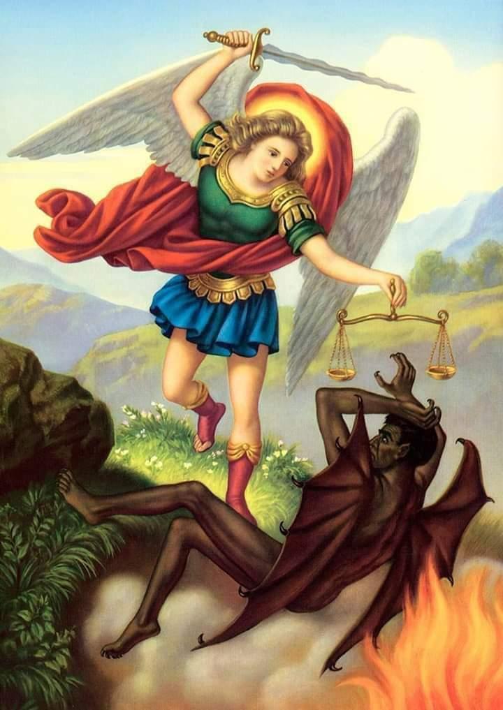 archangel michael devil