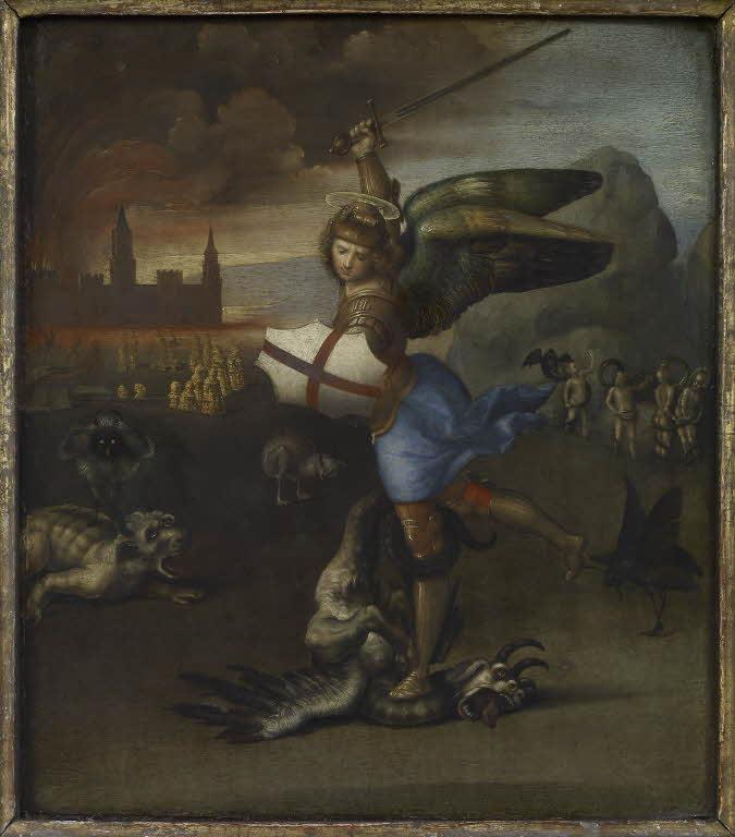 saint-michel-terrassant-demon louvre 1500